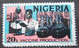 Poštovní známka Nigérie 1973 Výroba vakcín Mi# 283 I Y Kat 4.40€