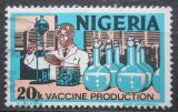 Poštovní známka Nigérie 1979 Výroba vakcín Mi# 283 II X