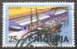 Poštovní známka Nigérie 1973 Přístav Mi# 284 II Y