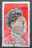 Poštovní známka Nigérie 1987 Tradiční účes Mi# 509