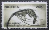 Poštovní známka Nigérie 1988 Garnela zdobená Mi# 521