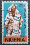 Poštovní známka Nigérie 1989 Tradiční kroj Mi# 543