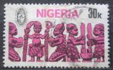 Poštovní známka Nigérie 1977 Africké umění Mi# 327