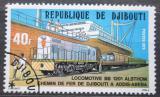 Poštovní známka Džibutsko 1979 Lokomotiva Mi# 237