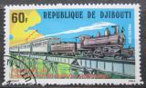 Poštovní známka Džibutsko 1979 Lokomotiva 130 Mi# 239