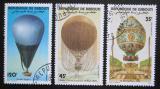 Poštovní známky Džibutsko 1983 Historie letectví Mi# 358-60