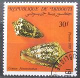 Poštovní známka Džibutsko 1985 Conus acuminatus Mi# 449