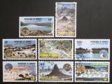 Poštovní známky Džibutsko 1984 Místní krajina Mi# 401-08