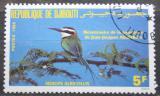 Poštovní známka Džibutsko 1985 Vlha bělohrdlá Mi# 429