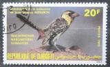 Poštovní známka Džibutsko 1985 Vousák kropenatý Mi# 431