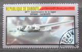 Poštovní známka Džibutsko 1987 Letadlo Mi# 482