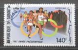 Poštovní známka Džibutsko 1987 Olympijské hry, běh Mi# 497