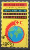 Poštovní známka Džibutsko 1988 Červený kříž, 125. výročí Mi# 505 Kat 4€