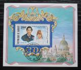 Poštovní známka Džibutsko 1981 Královská svatba Mi# Block 40 A