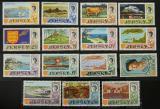 Poštovní známky Jersey, Velká Británie 1970 Turistické zajímavosti Mi# 34-48