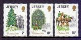 Poštovní známky Jersey, Velká Británie 1981 Vánoce Mi# 270-72
