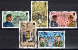 Poštovní známky Jersey, Velká Británie 1982 Mládežnické organizace Mi# 288-92