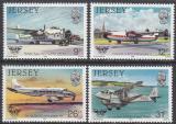 Poštovní známky Jersey, Velká Británie 1984 Letadla Mi# 330-33