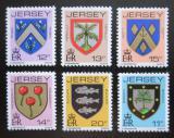 Poštovní známky Jersey, Velká Británie 1981 Rodinné erby Mi# 264-69