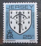 Poštovní známka Jersey, Velká Británie 1982 Erb rodiny L´Arbalestier Mi# 273