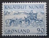 Poštovní známka Grónsko 1972 Poštovní služby v Grónsku Mi# 80