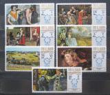 Poštovní známky Umm al-Kuvajn 1967 Umění Mi# 218-24
