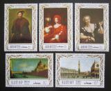 Poštovní známky Adžmán 1969 Umění Mi# 419-23