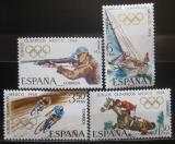 Poštovní známky Španělsko 1968 LOH Mexiko Mi# 1777-80
