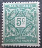 Poštovní známka Mauritánie 1914 Doplatní Mi# 9