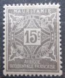 Poštovní známka Mauritánie 1914 Doplatní Mi# 11