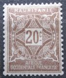 Poštovní známka Mauritánie 1914 Doplatní Mi# 12
