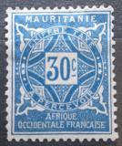 Poštovní známka Mauritánie 1914 Doplatní Mi# 13