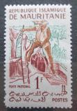 Poštovní známka Mauritánie 1960 Muž u studny Mi# 164