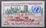 Poštovní známka Mauritánie 1962 Ústředí OSN v New Yorku Mi# 192