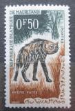 Poštovní známka Mauritánie 1963 Hyena žíhaná Mi# 204