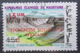 Poštovní známka Mauritánie 1975 Průsmyk Amogjar přetisk Mi# 513