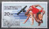 Poštovní známka Mauritánie 1983 LOH Los Angeles, zápas Mi# 802