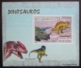 Poštovní známka Mosambik 2007 Dinosauři DELUXE neperf. Mi# 2972 B Block