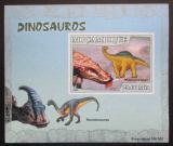 Poštovní známka Mosambik 2007 Dinosauři DELUXE neperf. Mi# 2973 B Block