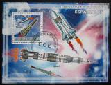 Poštovní známka Mozambik 2009 Průzkum vesmíru Mi# Block 260 Kat 10€