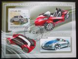 Poštovní známka Mosambik 2009 Moderní automobily Mi# Block 243 Kat 10€