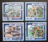 Poštovní známky Mosambik 2015 Vietnamská válka Mi# 7815-18 Kat 15€