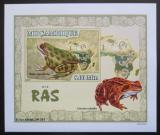 Poštovní známka Mosambik 2007 Žáby DELUXE neperf. Mi# 2959 B Block