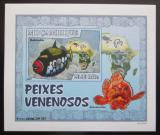 Poštovní známka Mosambik 2007 Jedovaté ryby DELUXE neperf. Mi# 2951 B Block