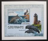 Poštovní známka Mosambik 2007 Delfíni DELUXE neperf. Mi# 3044 B Block