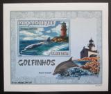 Poštovní známka Mosambik 2007 Delfíni DELUXE neperf. Mi# 3049 B Block