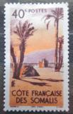 Poštovní známka Francouzské Somálsko 1947 Palmy Mi# 287