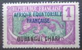 Poštovní známka Ubangi-Šari-Čad 1924 Střední Kongo přetisk Mi# 43