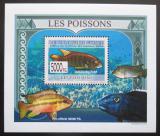 Poštovní známka Guinea 2009 Ryby DELUXE Mi# 6377 Block