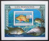 Poštovní známka Guinea 2009 Ryby DELUXE Mi# 6379 Block